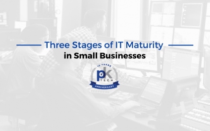 Three Stages of IT Maturity in Small Businesses