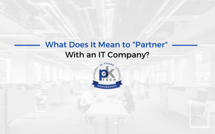 """What Does It Mean to """"Partner"""" With an IT Company?"""