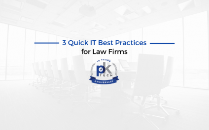 3 Quick IT Best Practices for Law Firms