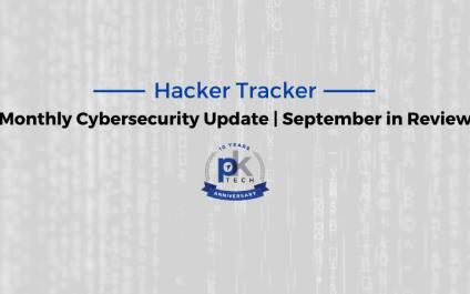 Hacker Tracker | September in Review