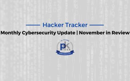 Hacker Tracker | November in Review