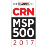 CRN MSP 500 Award 2017
