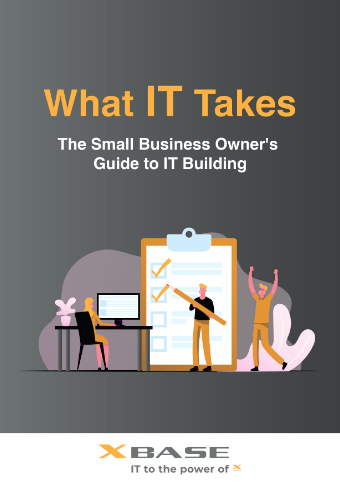LD-XBASE-Technologies-What-IT-Takes-The-Small-Business-Owners-Guide-to-IT-Building-Cover