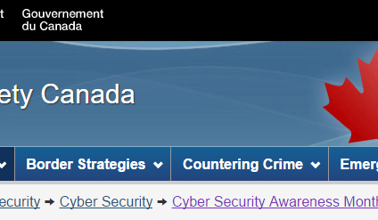 October is Cyber Security Awareness Month