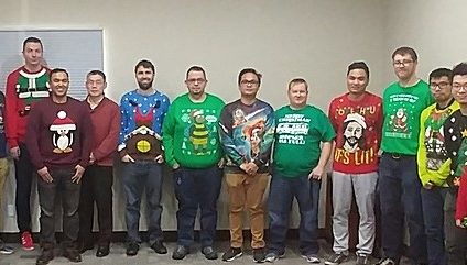 The Inaugural XBASE Ugly Sweater Day.