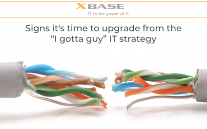 """Signs it's time to upgrade from the """"I gotta guy"""" IT strategy"""
