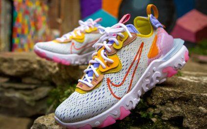 รองเท้า Nike React Vision โดดเด่นด้วยความสดใส ใส่ได้ทุกสถานการณ์