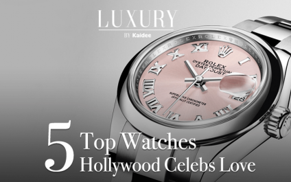 Hollywood Celebrities in Luxury Watches