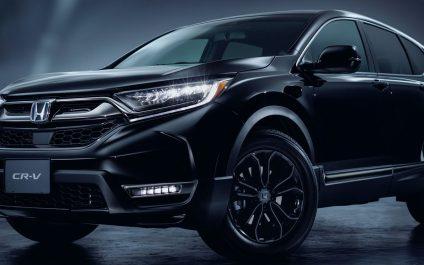 ดำสนิทสุดคมเข้ม! Honda CR-V Black Edition รถใหม่รุ่นพิเศษเปิดตัวที่ญี่ปุ่น