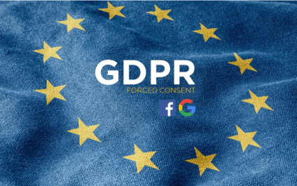 Facebook And Google Receive Complaints Over Gdpr