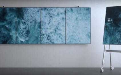 Microsoft's Surface Hub 2 Is Seriously Futuristic