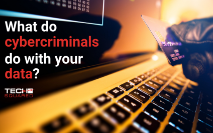 What do cybercriminals do with stolen data?