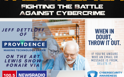Defeat The Breach Featured on The Art Lewis Show on WSGW 790am