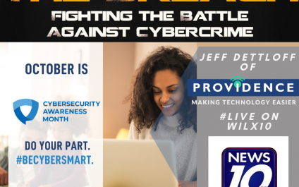 Defeat The Breach Appears on WILX10 News for CyberSecurity Awareness Month