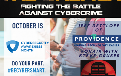 Defeat The Breach Featured on The Steve Gruber Show on WJIM for CyberSecurity Awareness Month