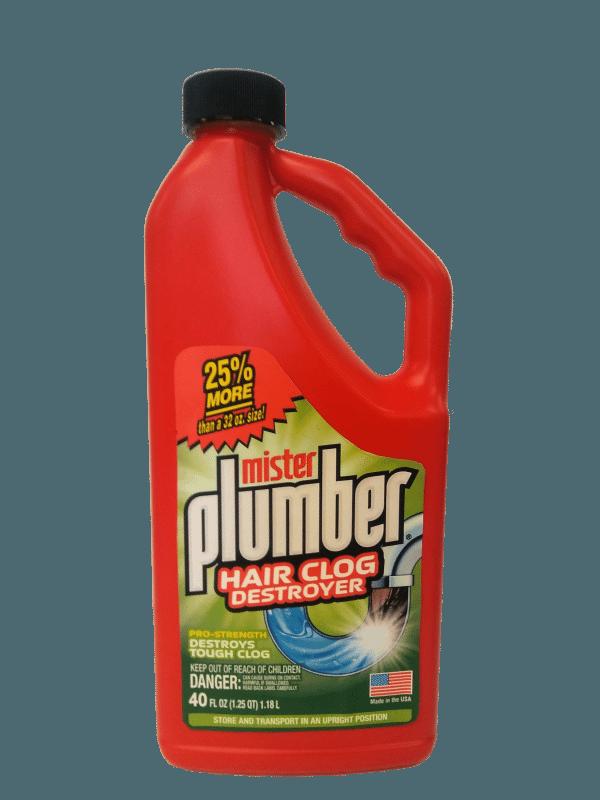 Mister Plumber Hair Clog Clearwater St Petersburg