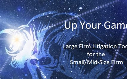 Up Your Game – EclipseSE Litigation Database for the Small-Mid-size Firm