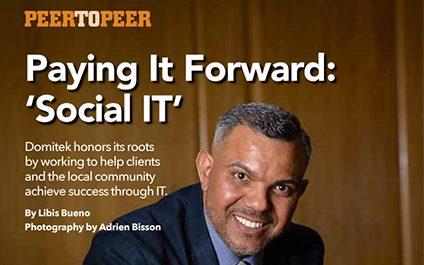 Paying It Forward: 'Social IT'