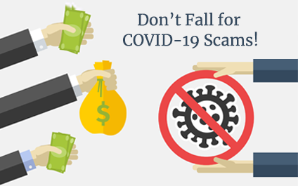 COVID-19 Scams are Flooding the Internet