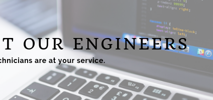 At your service: Meet your technical team