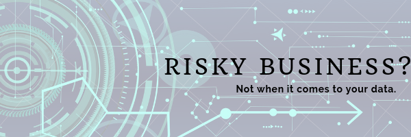 Risky Business? Not When It Comes To Your Data.