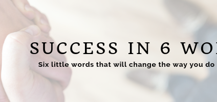 CEO Article: Hold the Presses!…6 Words That Will Solve All Your Problems