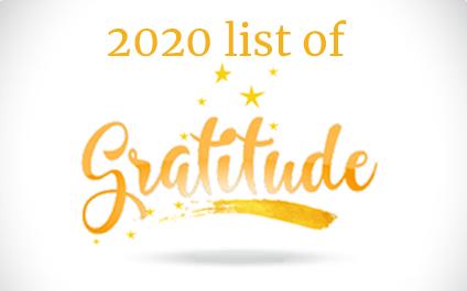 Adept Solutions' 2020 List of Gratitude