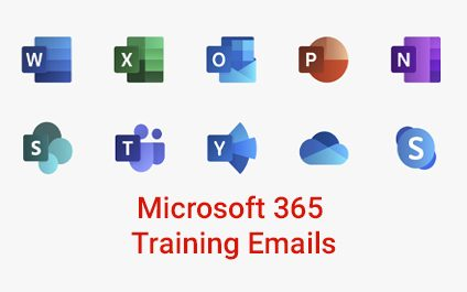 Microsoft 365 Training Coming to Your Inbox