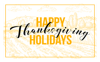 Adept Solutions' Holiday Hours