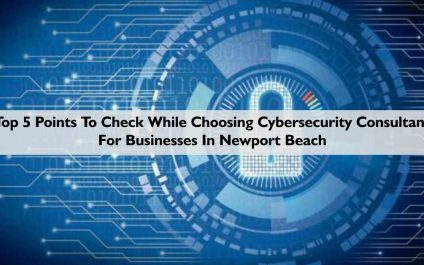 Top 5 Points To Check While Choosing Cybersecurity Consultant For Businesses In Newport Beach