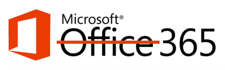 Popular Office 365 packages relabeled Microsoft 365