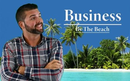Business By The Beach Podcast Interviews Michael Borlaug from Capstone IT
