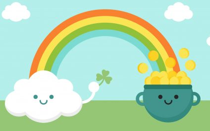 A Pot of Gold: Somewhere Over the Rainbow and in the Cloud