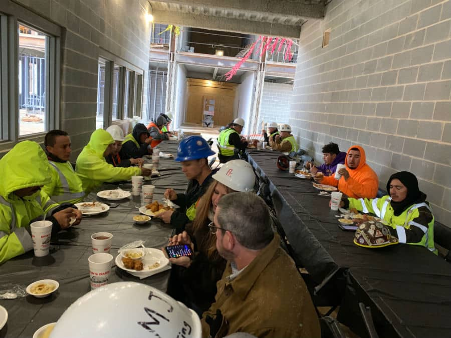 Subcontractor-Appreciation-Lunch-at-the-Seaforth-High-School-project