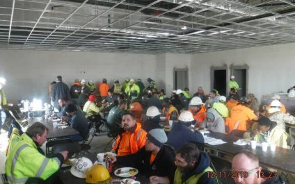 Subcontractor Appreciation Lunch at Third Creek Middle School