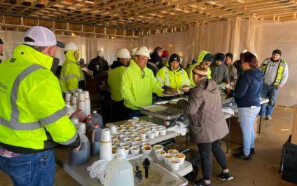 Crossings at Brookberry Subcontractor Appreciation Lunch