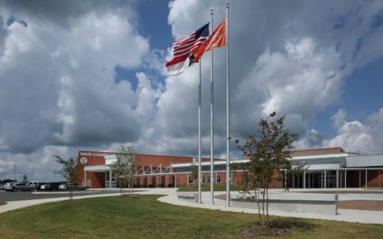 New Atlantic is honored to have received a Carolinas AGC Pinnacle Award for our work on the Davie County Schools' New Davie High School