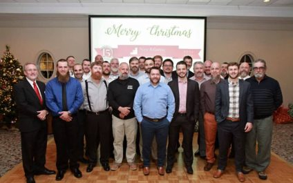 Twenty-five of New Atlantic employees participated in No Shave November raising $2,500 for the Jimmy V Foundation.