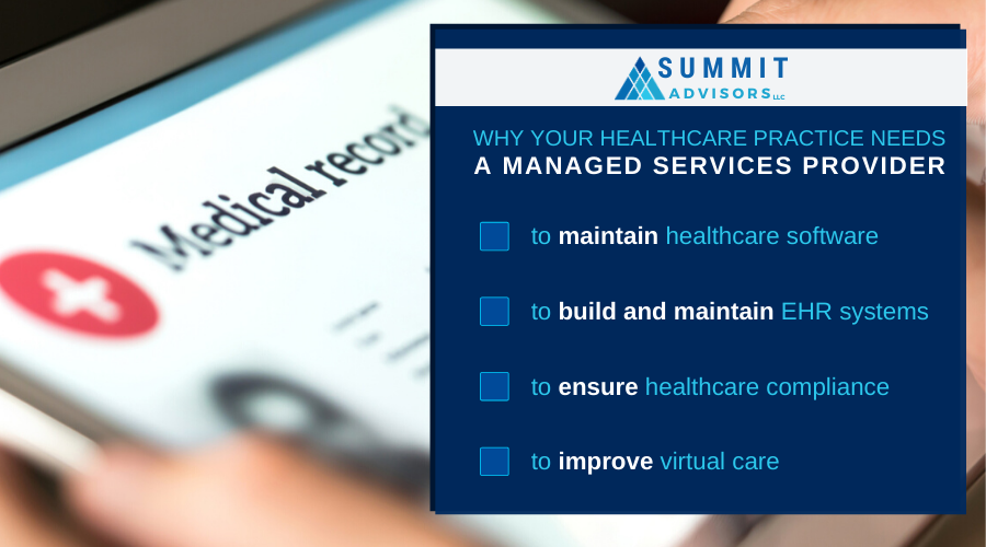 benefits of MSP to healthcare organizations