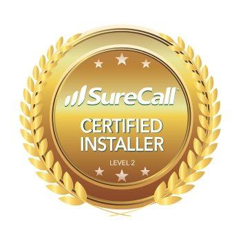 Certified installers of SureCall amplifiers