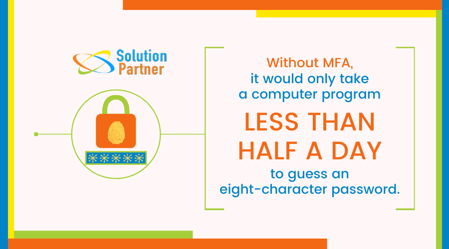 why you need multifactor authentication infogrpahic