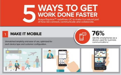 5 ways to get work done faster