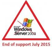Windows Server 2003 is reaching End of Life