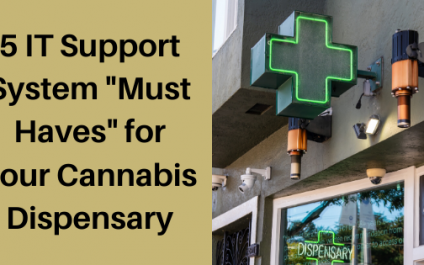 """5 IT Support System """"Must Haves"""" for Cannabis Dispensaries"""