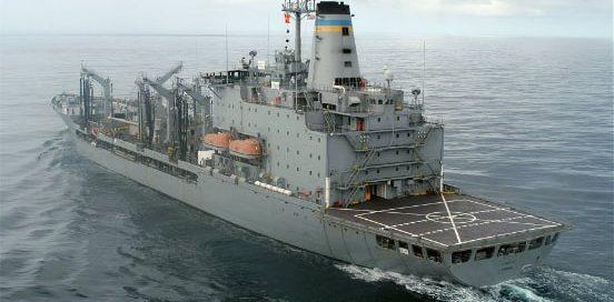 East Coast Repair and Fabrication contract to provide mid-term availability of USNS Kanawha fleet replenishment oiler