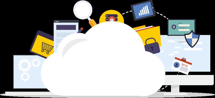 cloud-service-vector