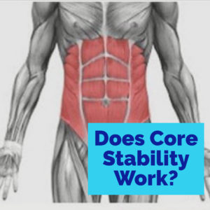 Does core stability work?