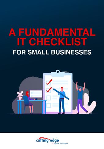 LD-CuttingEdge-A-Fundamental-IT-Checklist-for-SMB-Cover