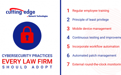 7 Cybersecurity practices every law firm should adopt