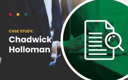 Using audIT For QBRs/TBRs/ABRs: Case Study with Chadwick Holloman